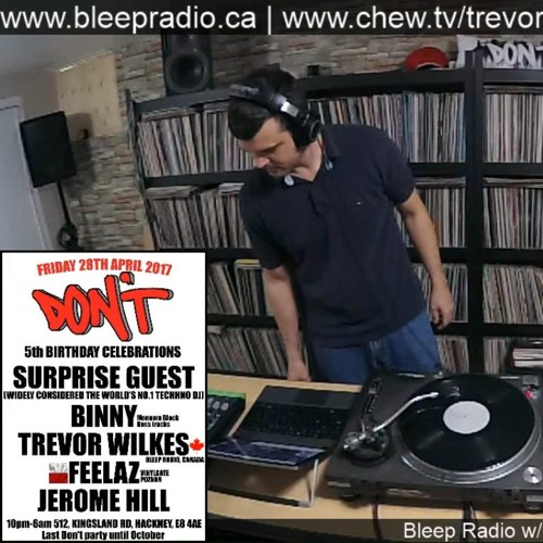 Bleep Radio #349 by Trevor Wilkes (An Acid Mix!)