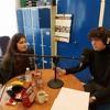Radio Bugalu-DJ`s: Mathilde Mølgaard & Sebastian Hvidberg.