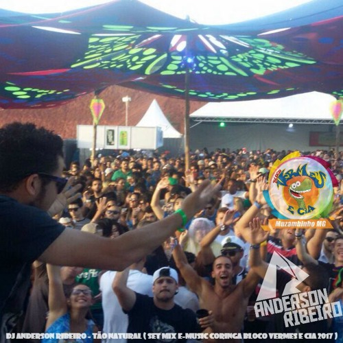 Dj Anderson Ribeiro - Tão Natural ( Set Mix E-Music Coringa Bloco Vermes e Cia 2017 )Freedownload