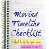 How to Make a Moving Timeline Checklist?