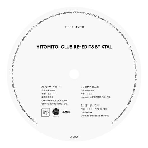 HITOMITOI CLUB RE-EDITS BY XTAL