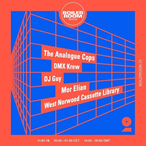 West Norwood Cassette Library Boiler Room Berlin Live Set