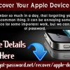 How to Recover Your Apple Device Password.mp3