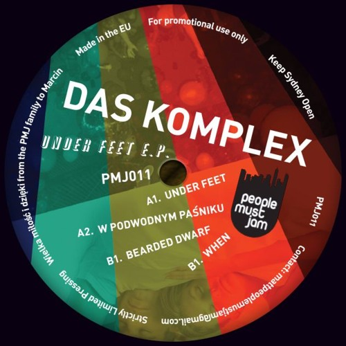Das Komplex - Under Feet EP (PMJ011)