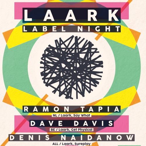 Denis Naidanow Sat. 28 Jan. 2017 Laark Label Night Live @ Magazine Club : France