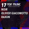 Olivier Giacomotto - Noir Music Amsterdam, De Marktkantine Amsterdam, Netherlands 2017-02-17 Artwork