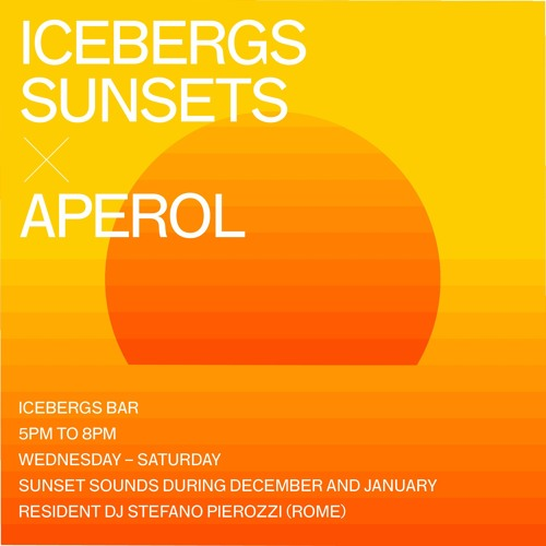 Icebergs Sunsets X Aperol 001 By Icebergs Dining Room And