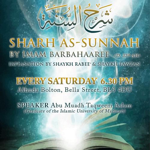 Sharh As-Sunnah Points 115-117
