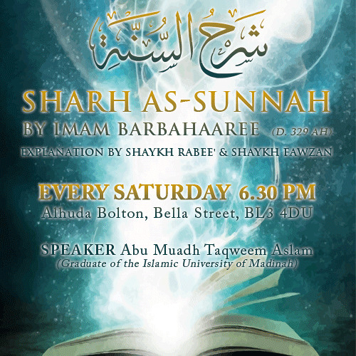 Sharh As-Sunnah Points 122-126