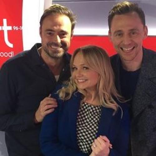 Tom Hiddleston on Heart Radio 9 March 2017