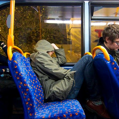 Asleep on the Night Bus