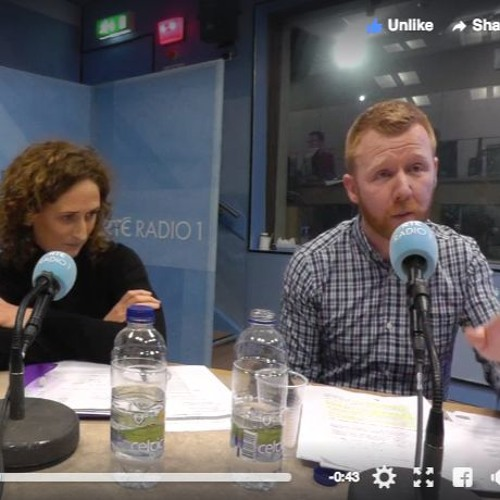 Right2Water discussing water charges on RTE Late Debate