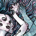 I M U R Swirl Artwork