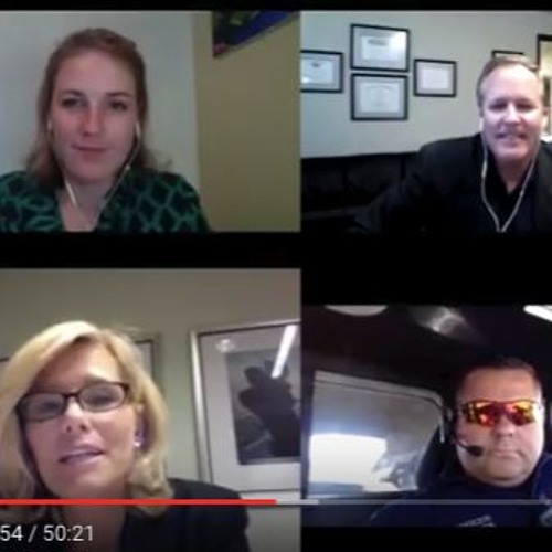 """Kelly Wallace of CNN talks """"Distracted Driving"""" on TheShow.live"""