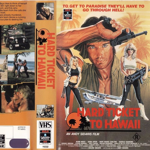SPLATHOUSE19: Hard Ticket to Hawaii (1987)