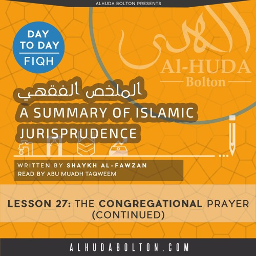Lesson 27 The Congregational Prayer (Continued)