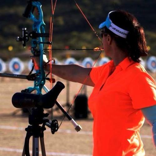 U.S. Paralympic archery team athlete, Samantha Tucker