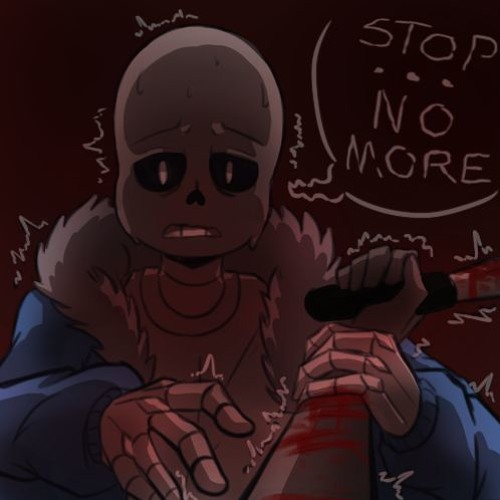 Stop The Pain - Sans X Self Harm Listener (sensitive+fluff) by