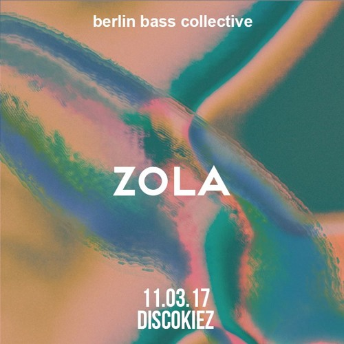 Zola live at Disco Kiez (11.03.17) @ Loftus Hall Berlin