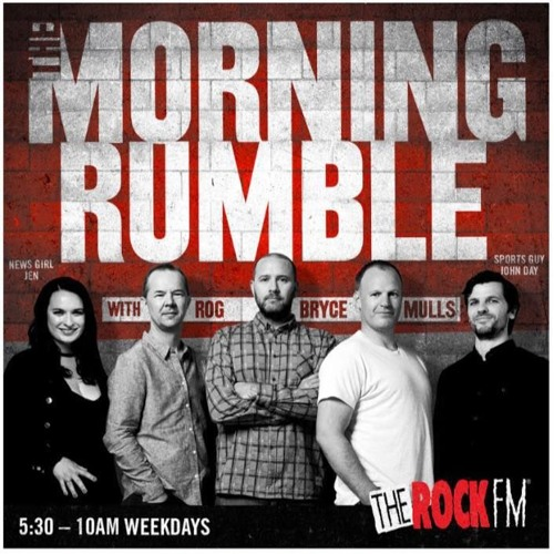 The Morning Rumble Podcast - Monday 13 March