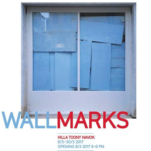 Galerie Klubovna: Wallmarks (Hilla Toony Navok) EN