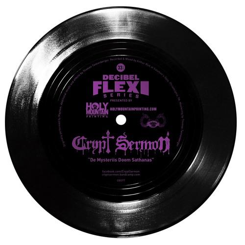 "Crypt Sermon ""De Mysteriis Doom Sathanas""(dB077)"