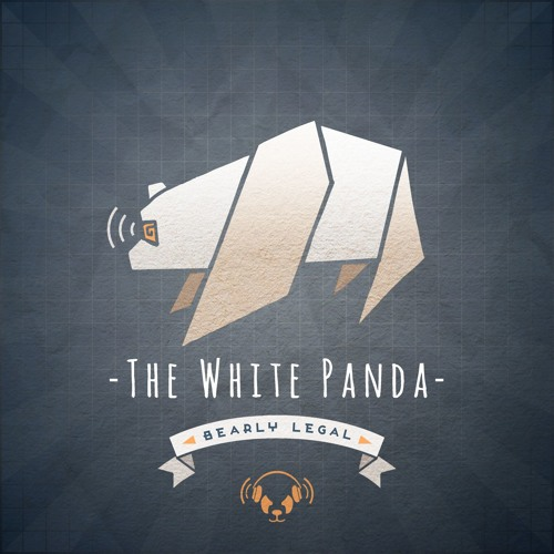 bearly legal white panda