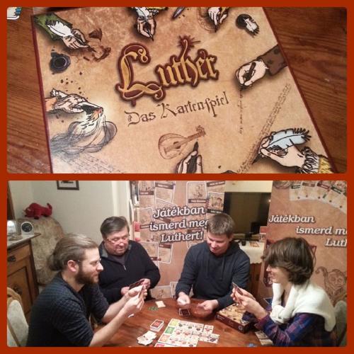 """Mit """"Luther - Das Kartenspiel"""" spielend die Reformation entdecken"""