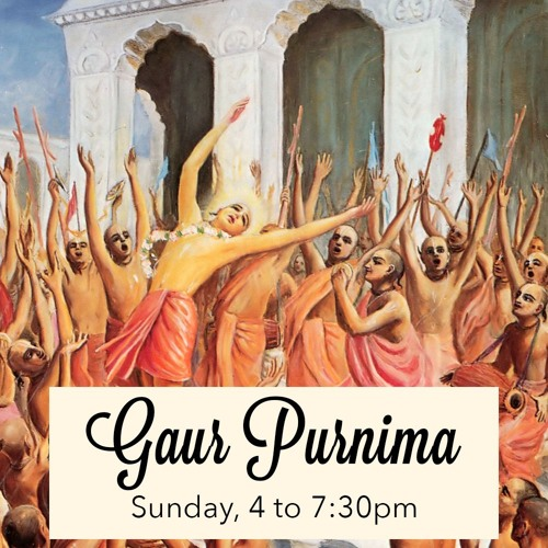 Gaur Purnima - Guruda das