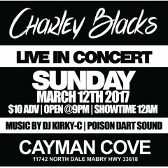 CHARLY BLACK CONCERT TAMPA.FL WITH POISON DART SOUND 3-12-17
