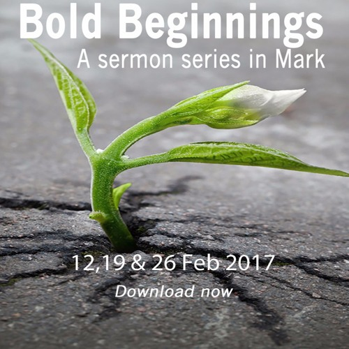 A series in Mark 1-2