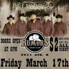 Rumors in Lubbock Tx Presents Peligro