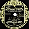 Anson Weeks - If It Isn't Love (Ben Gage, vocal) (1934)