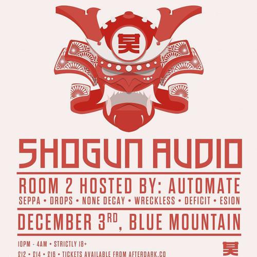 M-Set live @ Shogun Audio vs AutomAte - Bristol Dec 2016