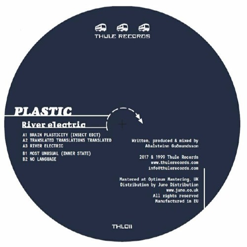 Plastic - River Electric (THL011 Reissue) - Previews