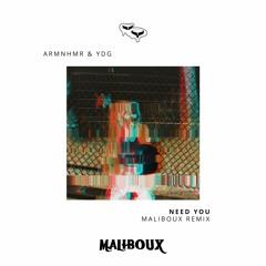 ARMNHMR & YDG - NEED YOU (Maliboux Remix)