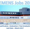 SIEMENS Recruitment 2017 Latest Off Campus Placement Jobs For Freshers