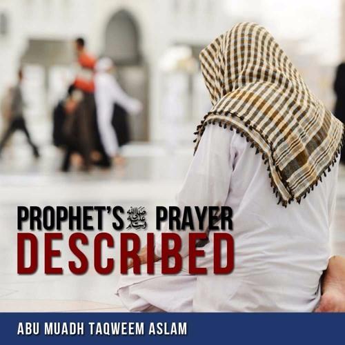The Prophet's (sallallahu alaihi wasallam) Prayer Described