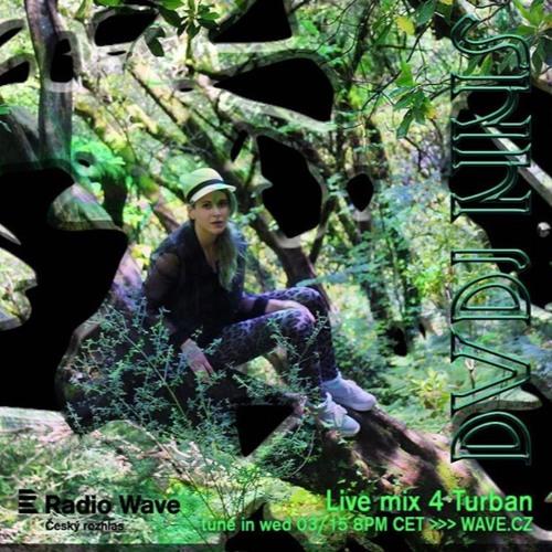 DVDJ NNS live DJ set in Turban / Radio Wave