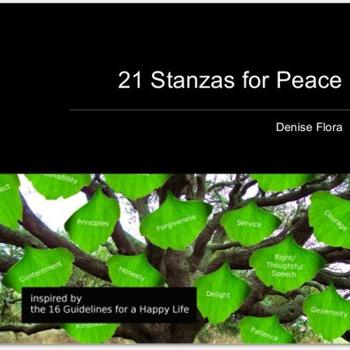 21 Stanzas For Peace