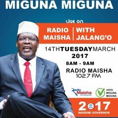 Miguna Miguna On Radio Maisha on 14Th March 2017