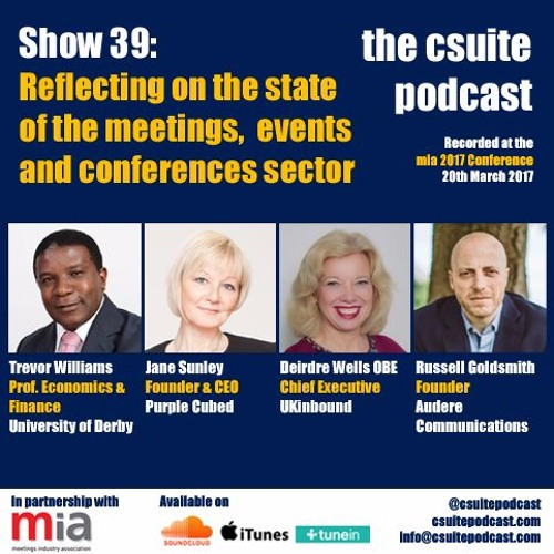 Show 39 - Reflecting on Meetings, Events and Conferences sector