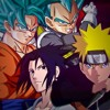 Naruto e Sasuke VS. Goku e Vegeta [Batalha De Gigantes] Ft. HerickSom Mc e Takeru