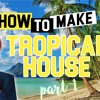 How To Make TROPICAL House CHORDS , MELODY And DRUMS + FREE FLP