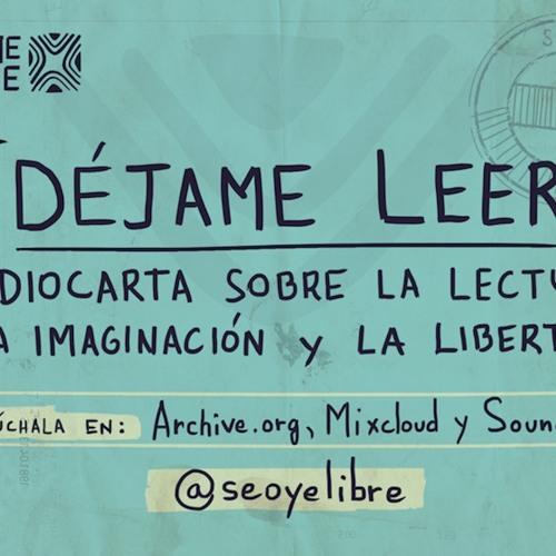 Déjame leer. Audio-carta sobre la lectura, la imaginación y la libertad, Audio-carta El Salvador