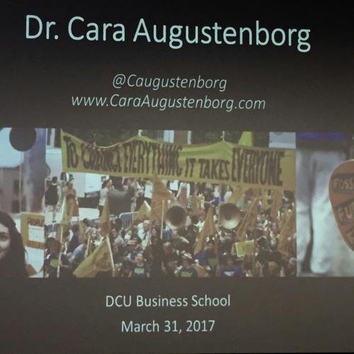 Cara Augustenborg Climate Reality, Dublin City University Business School