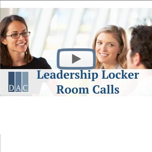 Leadership Locker Room Calls