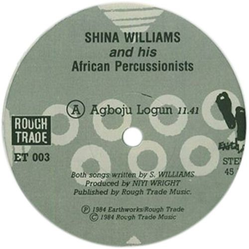 Shina Williams and His African Percussionists - Agboju Logun (Hober Mallow edit)