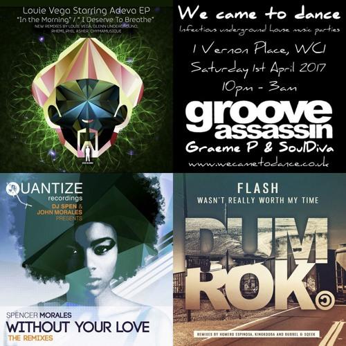 April 2017 Mix (Kenny Dope, Luyo, Rhemi, Demuir, King Kooba, Phil Asher & More...)