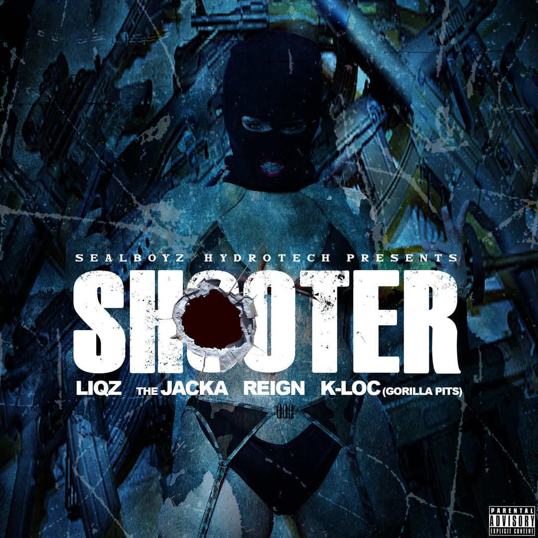 Liqz x The Jacka x Reign x K-Loc of Gorilla Pits - Shooter [Thizzler.com Exclusive]